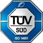 ISO 14001 Zertifikat